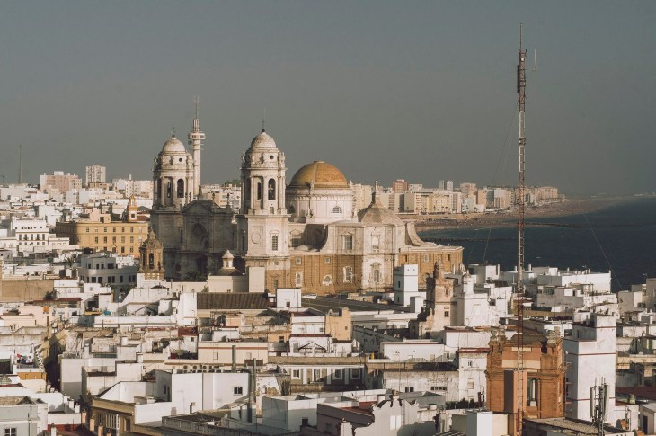 widok na Katedrę z Torre Tavira
