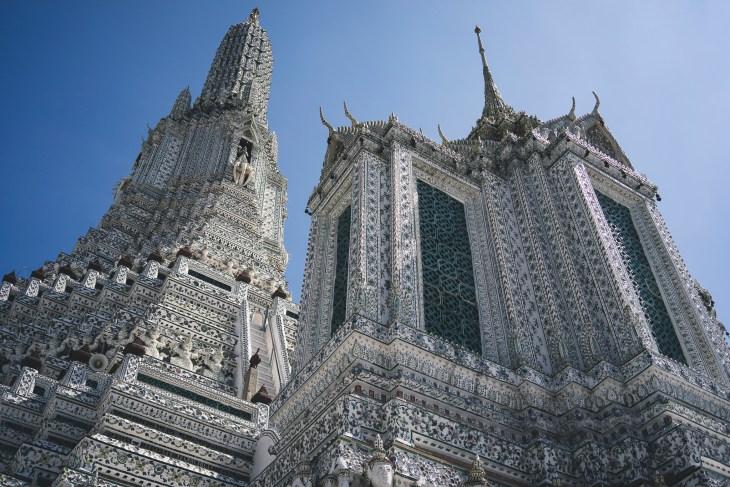 Wat Arun - mniej tu złoceń, więcej spokoju