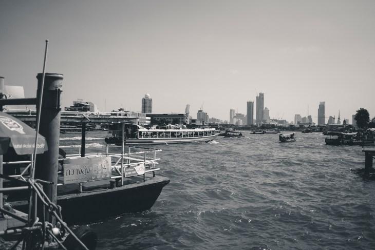 rejs rzeką Menam