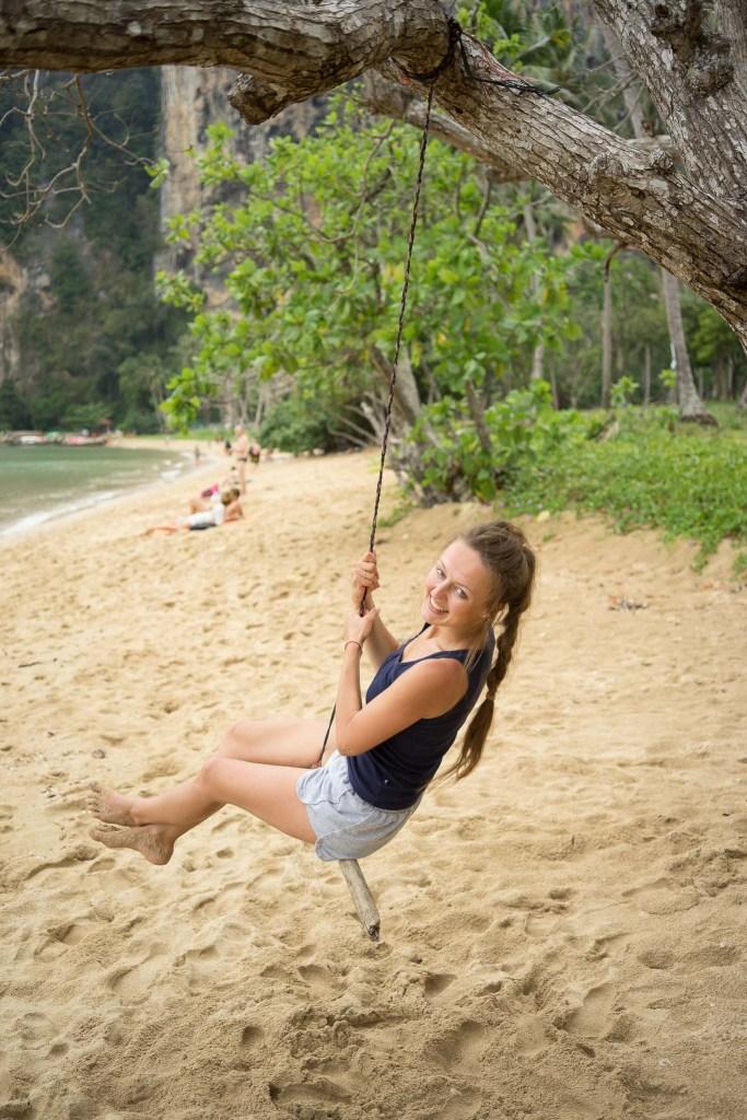 spokojna plaża Ton Sai