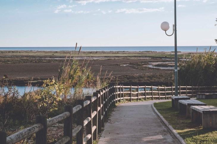spacer nad rzeką Salado