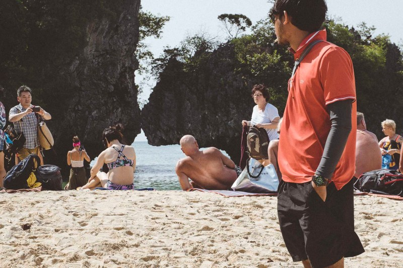 Wypoczynek na rajskiej plaży