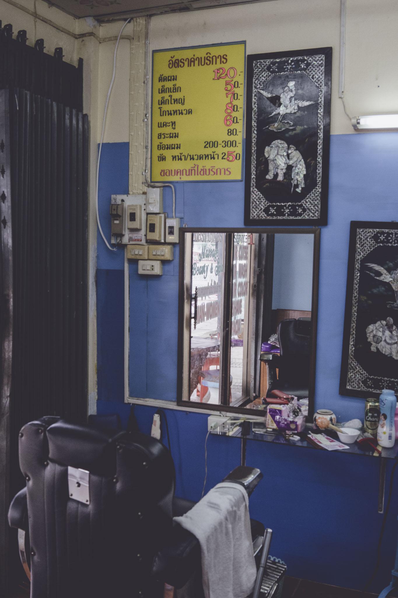 Klasyczny gabinet fryzjerski