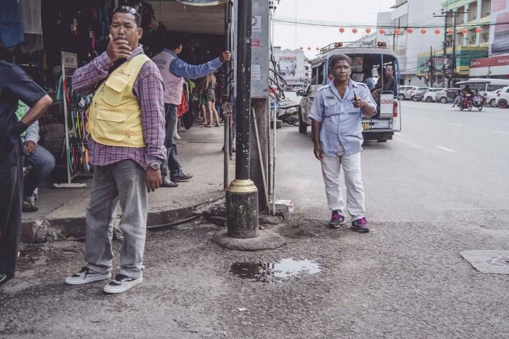 ulice Tajlandii