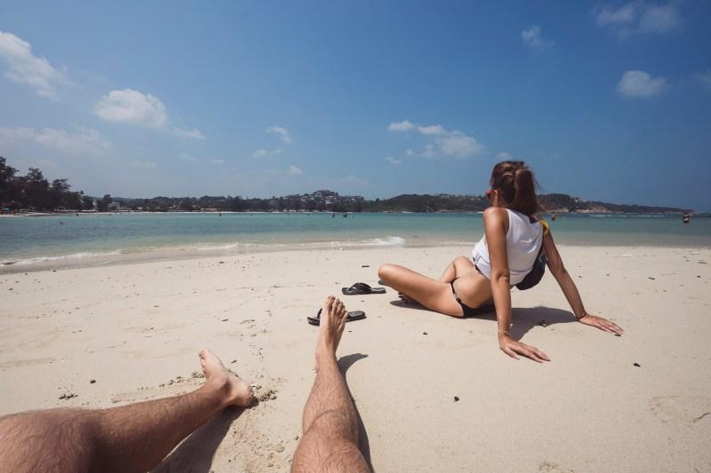 relaks na plaży Choeng Mon