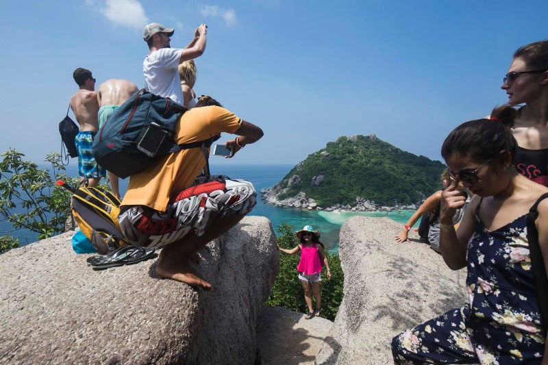 Photo-selfie-point, Koh Nang Yuan