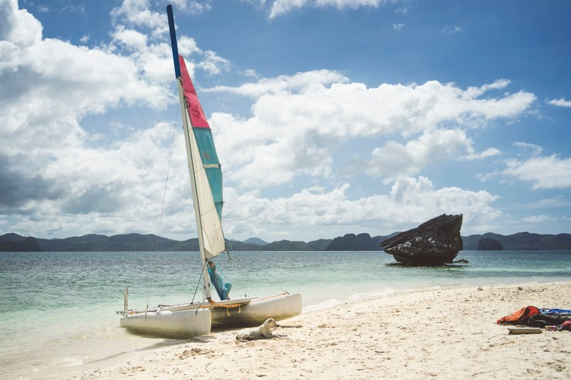przepiękna wyspa Pinagbuyatan, El Nido, Palawan