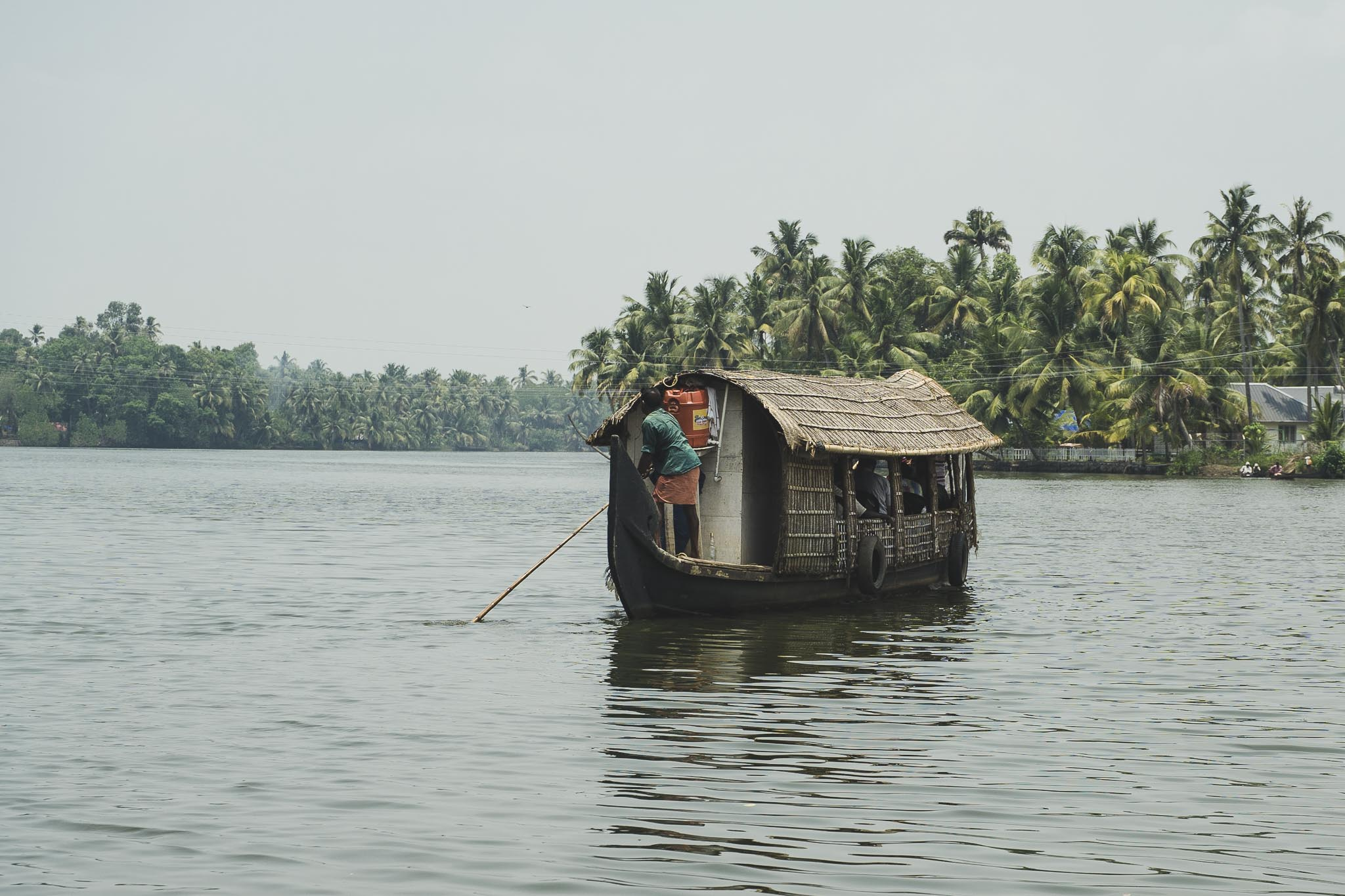 Backwaters, Kerala, Indie