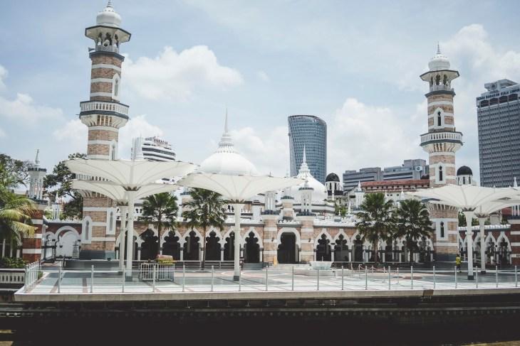 przepiękny meczet Jamek