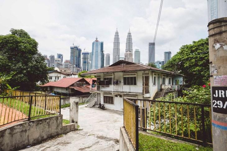 Kuala Lumpur, gdzie nowoczesnośc spotyka się z prostym, wiejskim życiem