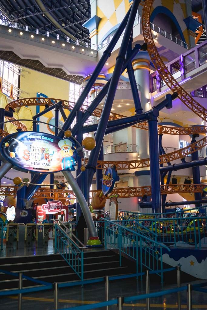 park rozrywki w galerii handlowej, dla każdego coś miłego