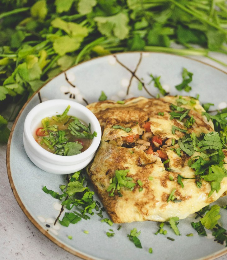 tajski omlet nadziewany