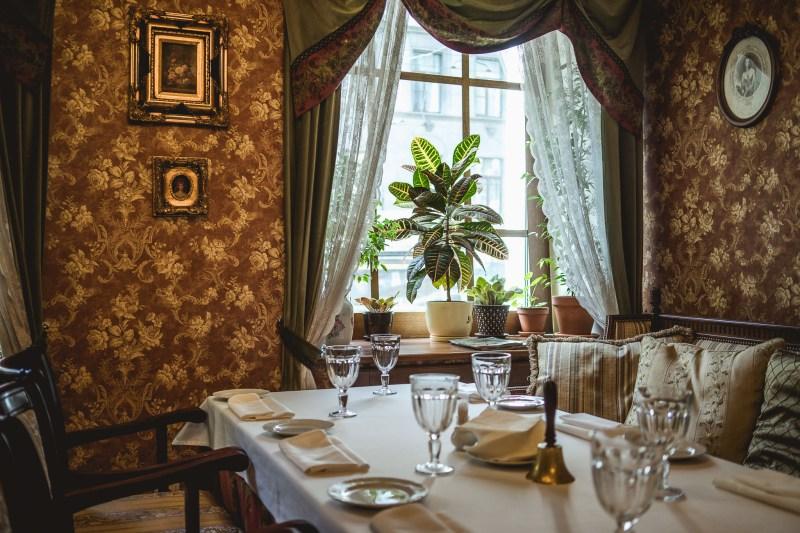 Elegancka restauracja Gogol'
