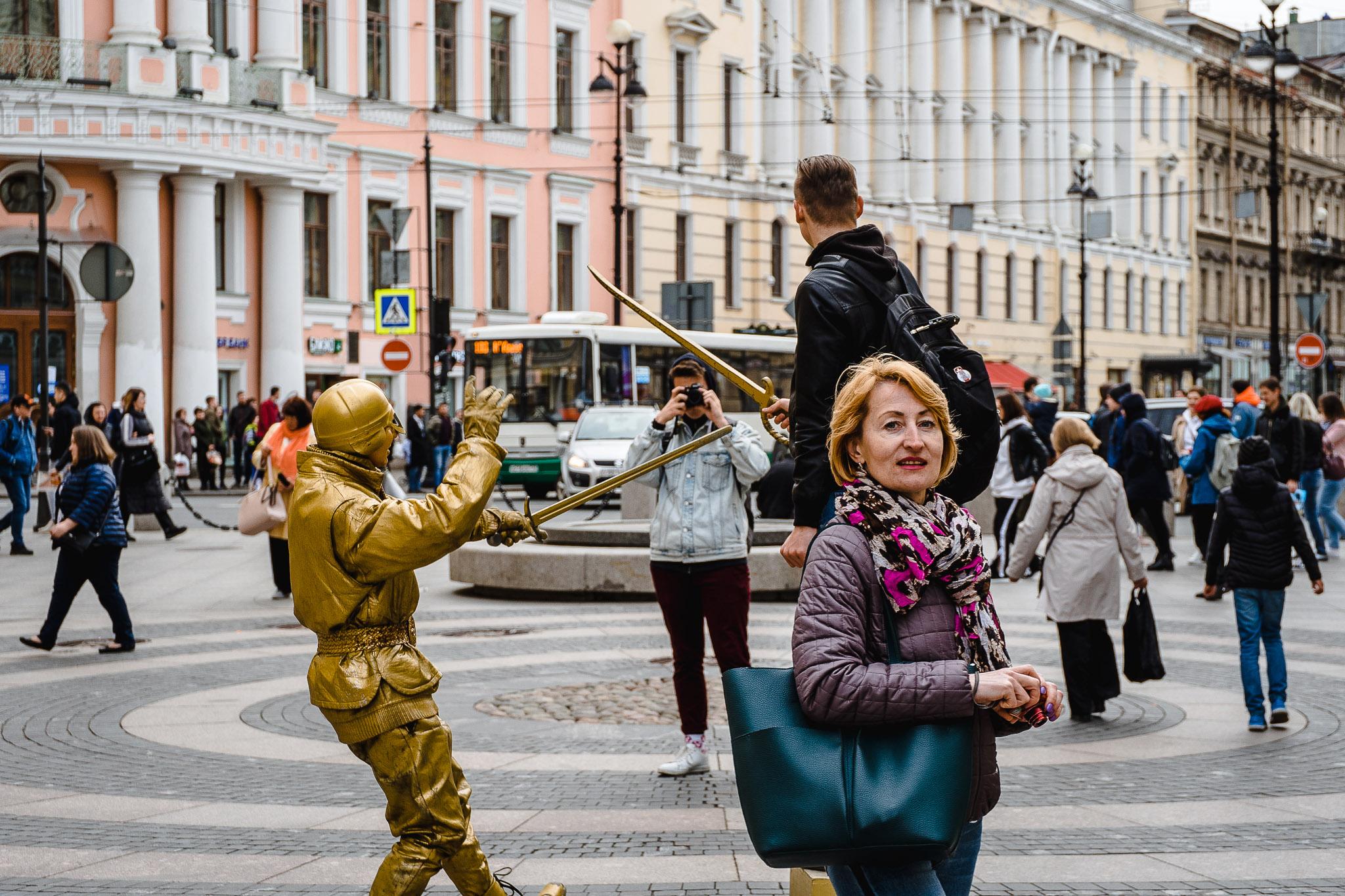 Turystyczne atrakcje w centrum Petersburga