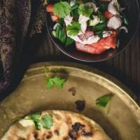 Salati nigvzit - gruzińska sałatka z sosem orzechowym