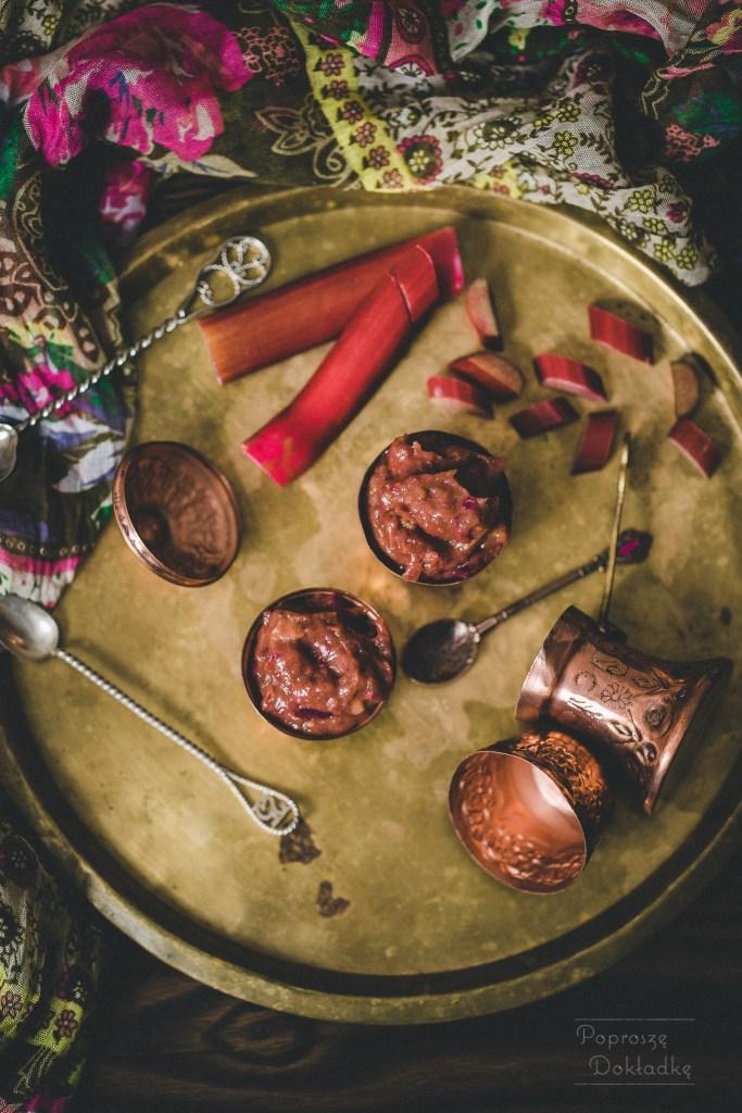 chutney z rabarbaru