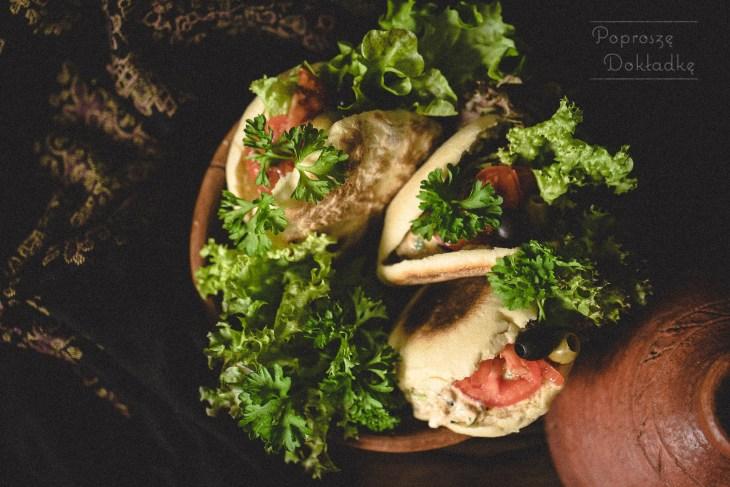 marokańskie chlebki z patelni batbout