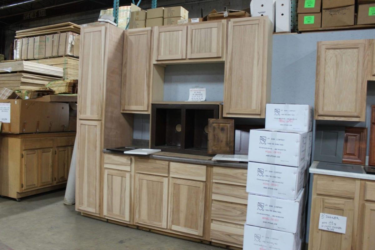 unfinished oak kitchen cabinets base solid wood pop 39s discount building