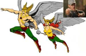 Legends of Tomorrow escala herói Hawkman 2