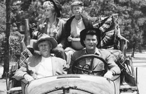 Porque os Clambets vão para a cidade em A Família Buscapé?