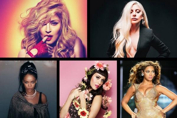 cantoras do pop na tv