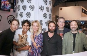 big bang theory comic con 2017