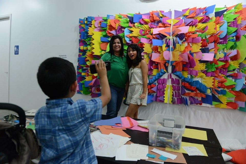 Kids Area by Stephanie Toppin Pop Shop Art Fest | Art and Sculptures at Pop Shop Houston Festival | Spring Street Studios