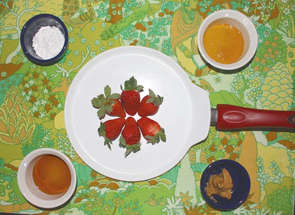 Recipe: Ingredients to Make a Sweet Gluten Free Crepe