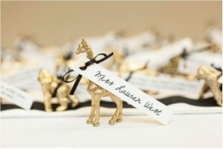 gilded animals