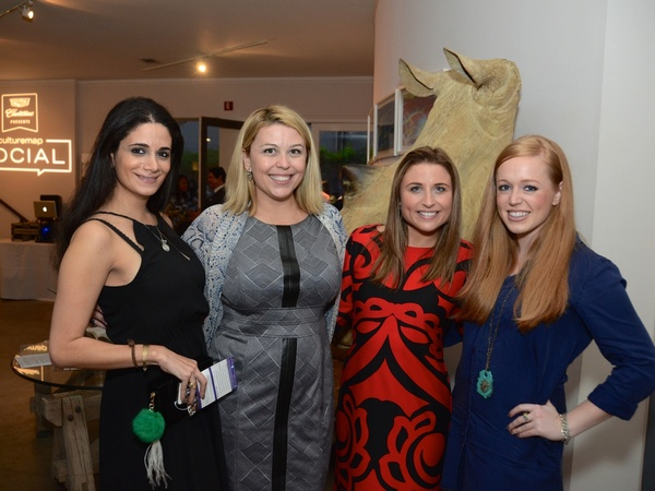 38-Mira-Haykal-from-left-Dede-King-Megan-Lesser-and-Darby-McDaniel-at-the-CultureMap-Social-at-Gremillion-and-Co.-Fine-Art-March-2015_090938