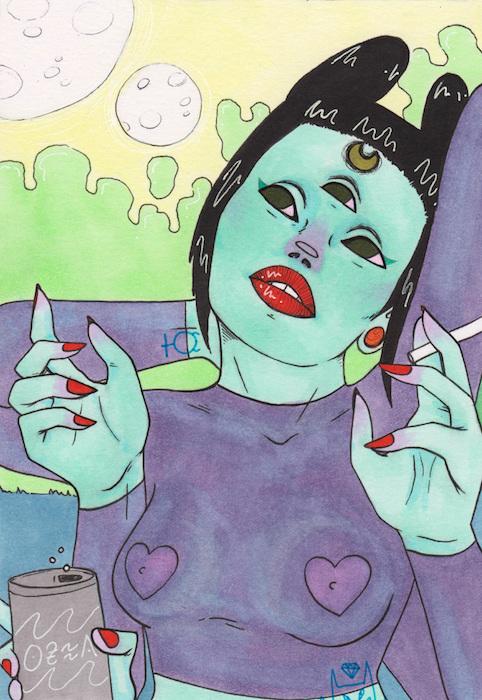 SARAH CATFACE Image