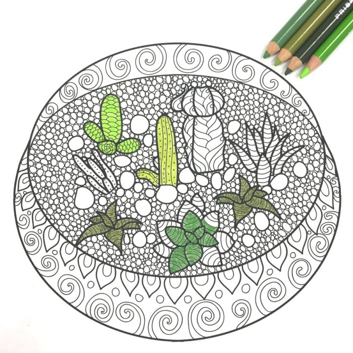 partially-colored-terrarium-free-printable-adult-coloring-page