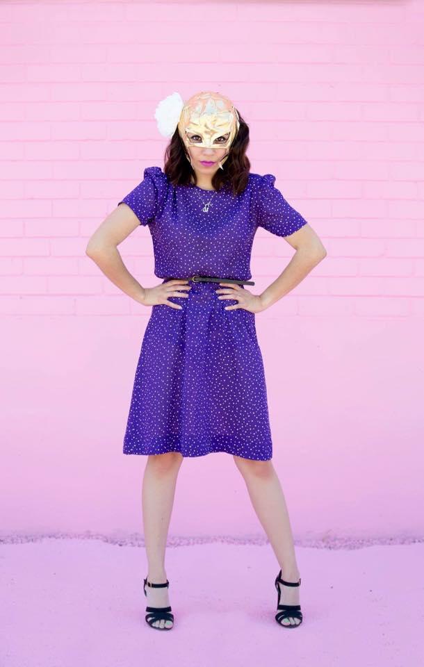 houston vintage clothing fashion pink backdrop