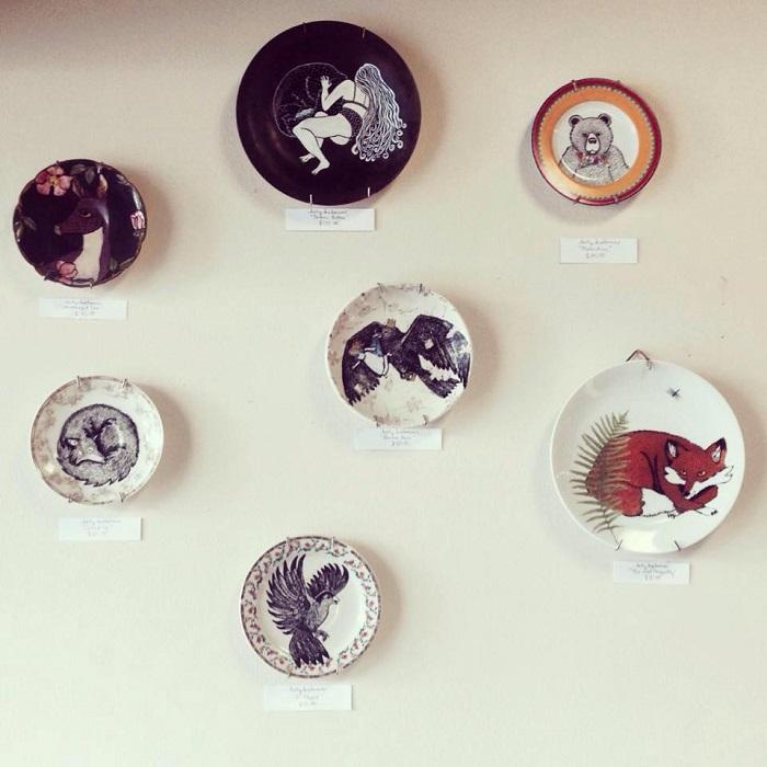 Plates at Pop Shop Houston Festival by Kelly Kielsmeier