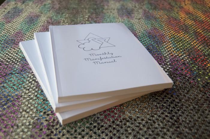 School of Life Design MonthlySchool of Life Design Manifestation Manual Stack of Journals