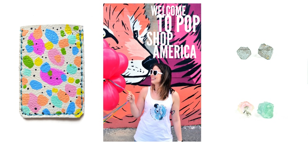 collage for Pop Shop America Handmade Wholesale