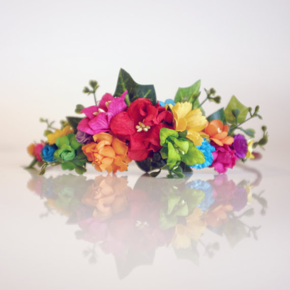 flower crown diy kit from oh dina flower crowns etsy shop