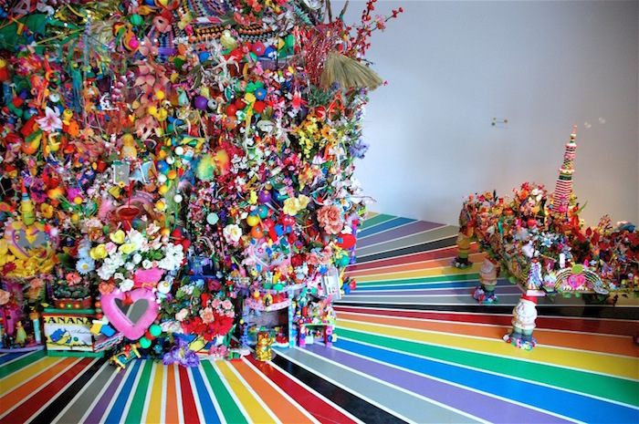 Paul Yore The Big Rainbow Installation