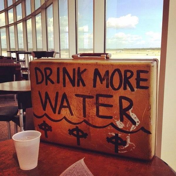 """Drink More Water"" Merchandise case"