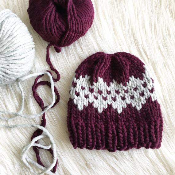 Best knitting projects: fair isle Jasper beanie