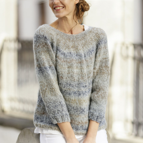 Best knitting projects: the soft Sea Mist sweater