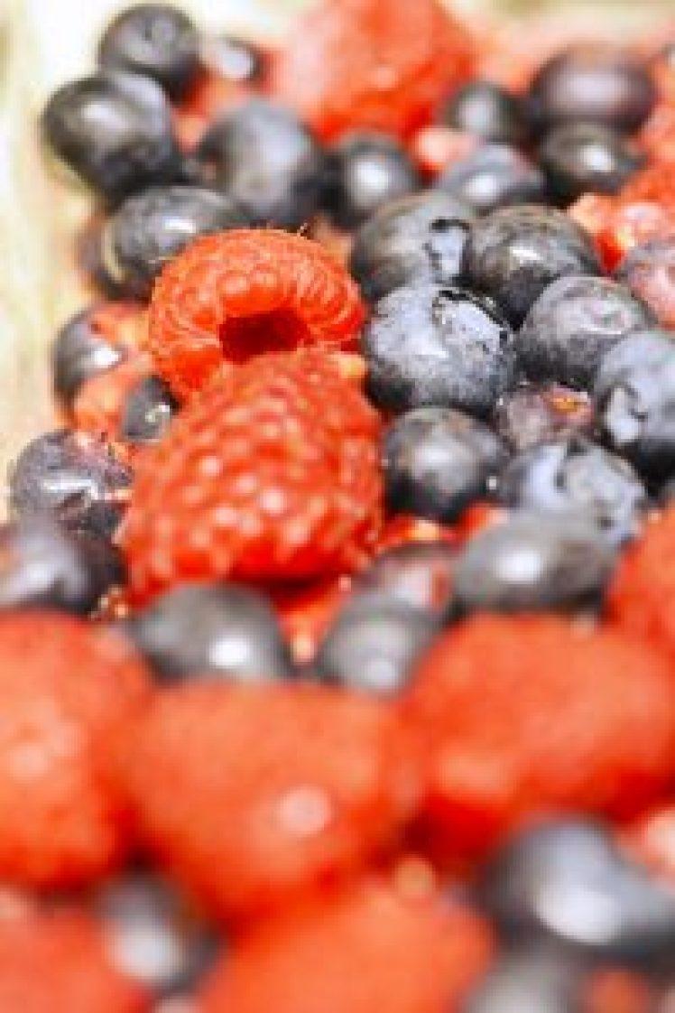 Mixed berry bars