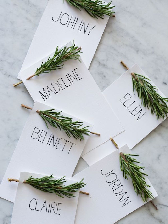 rosemary twig place cards pop shop america
