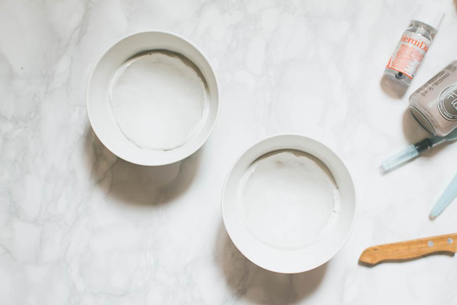 Process to make DIY Jewelry Plates