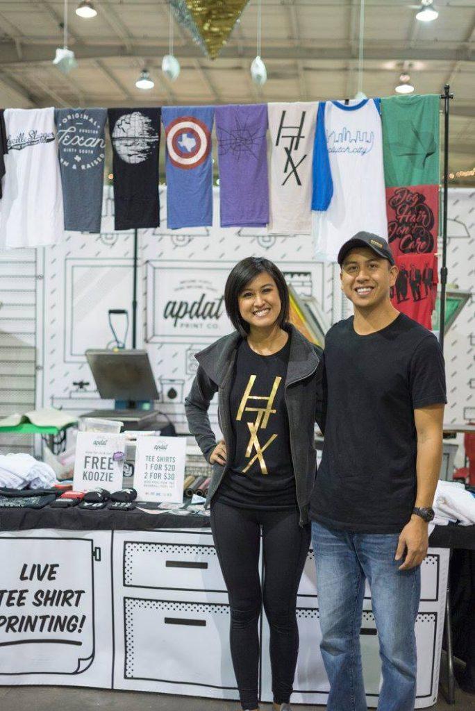 apdat printing craft fair booth inspiration