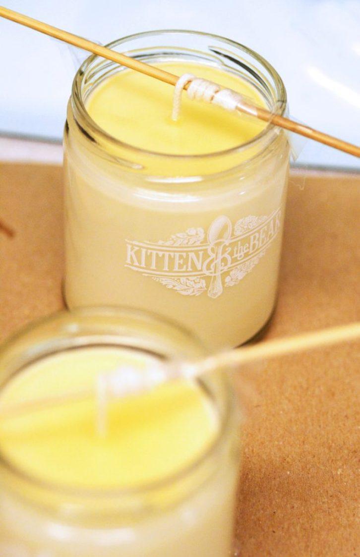 Handmade Beeswax Candles 1