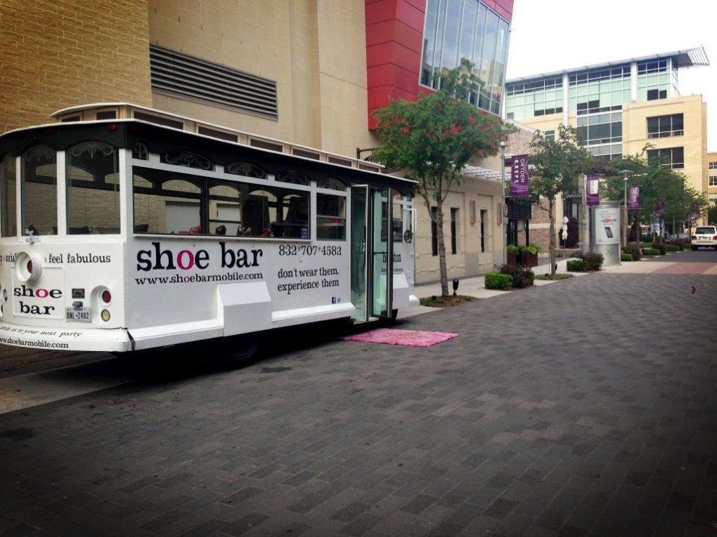the shoe bar best mobile boutique pop shop america