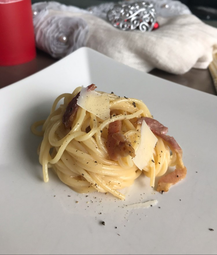 Popsicle Society - spaghetti carbonara