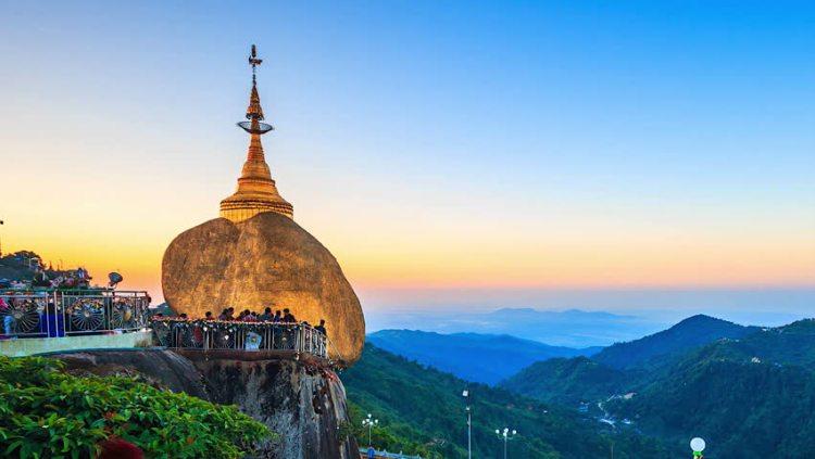 Myanmar_Kyaiktiyo Golden Rock_Popsicle Society