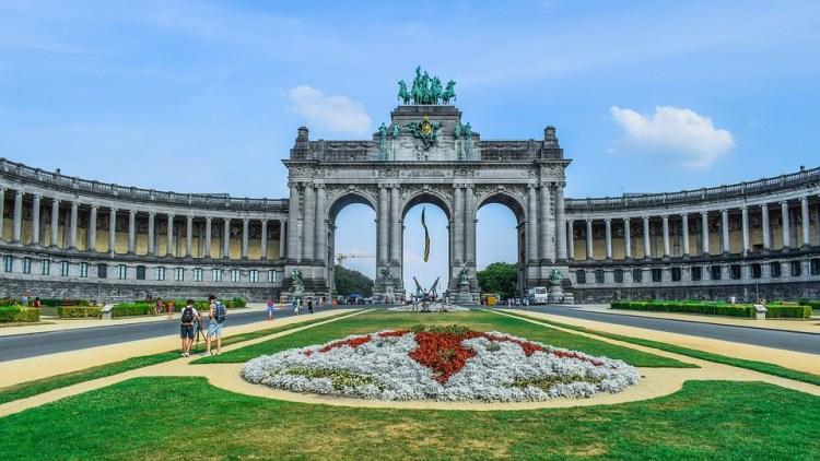 Cinquantenaire Park Brussels